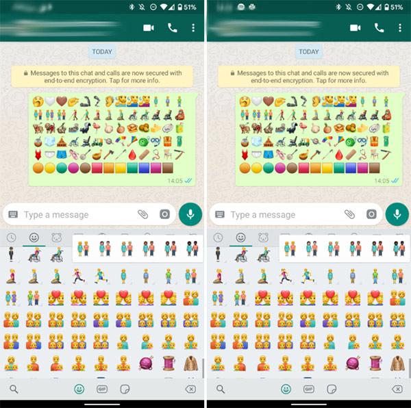 novos emojis whatsapp 2019